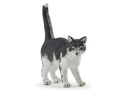 Gråvit katt (Papo)