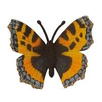 Nässelfjäril 7 cm (Collecta)