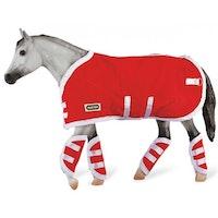 Hästtäcke & Transportskydd, rött