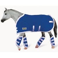 Hästtäcke & Transportskydd, blått