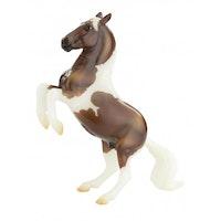 4 hästar Pintos & palominos 9 cm