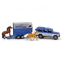 Land Rover & Trailer 1:32