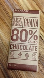 Chokladkaka Blanxart Mörk 80% 80g