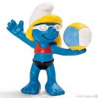 OS smurf Beachvolleyboll