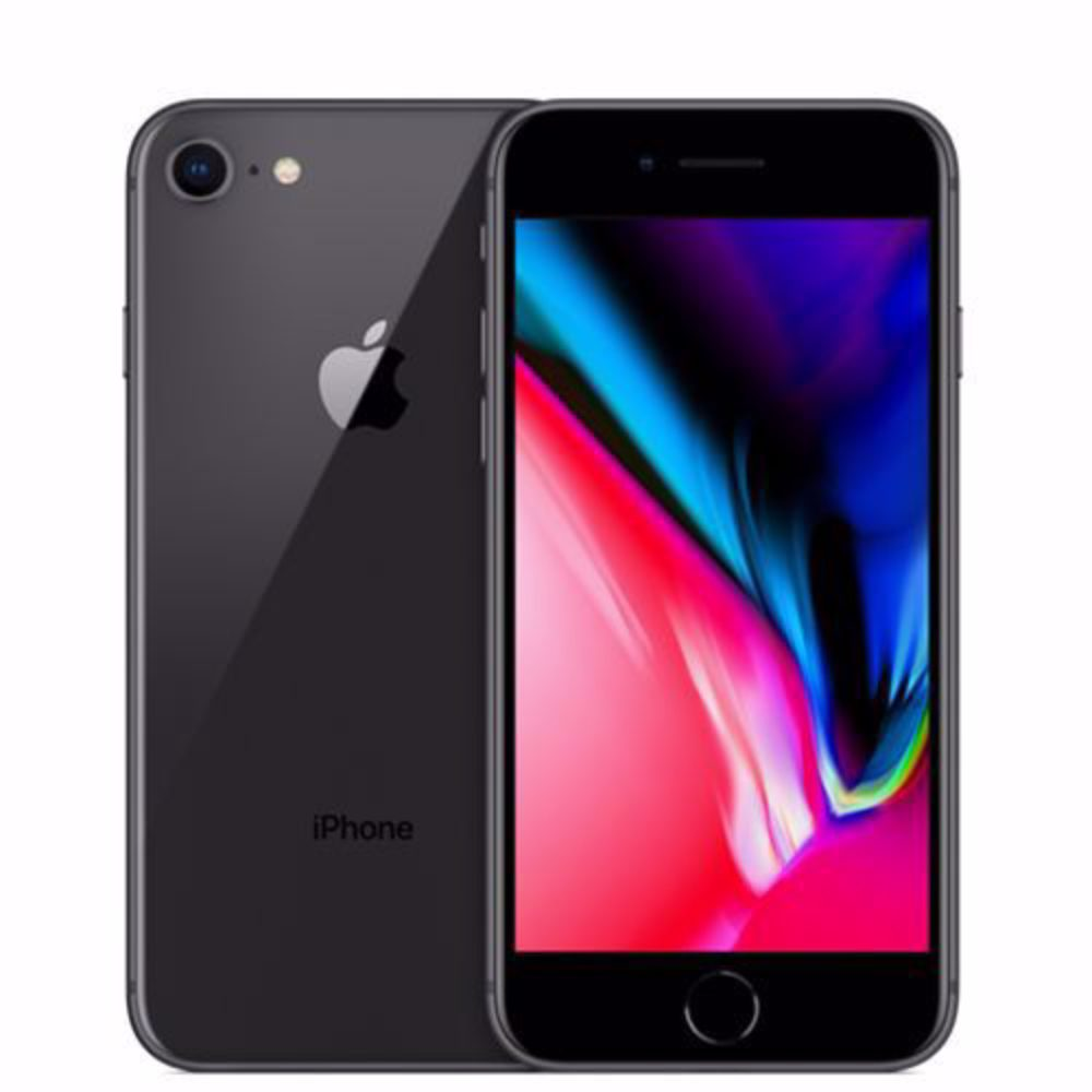 iPHONE 8 64Gb Svart - Normalt Slitage
