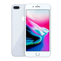 iPhone 8 Plus 64Gb Silver - Normalt slitage