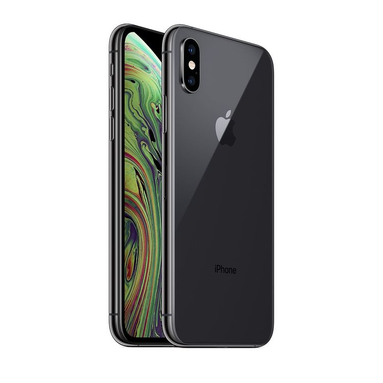 iPhone XS 64GB Svart - Gott skick