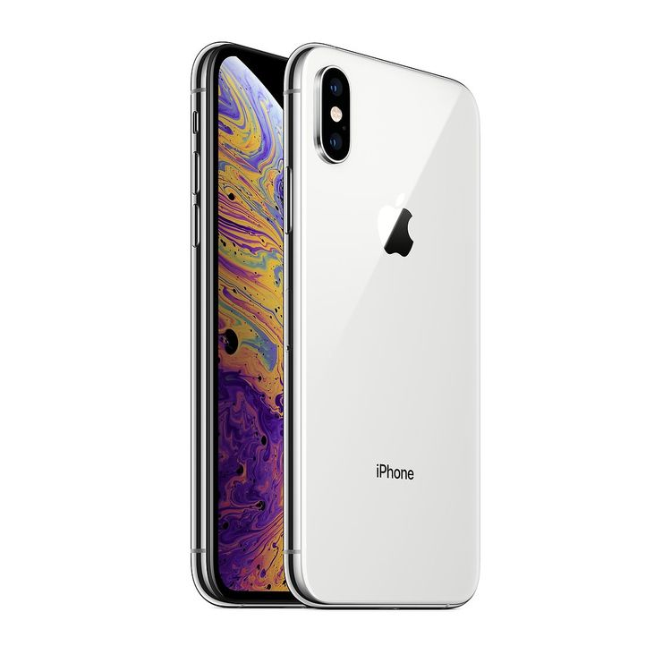 iPhone XS 64GB Silver - Gott skick