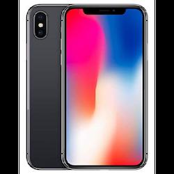 iPHONE X 64gb Svart - Sliten