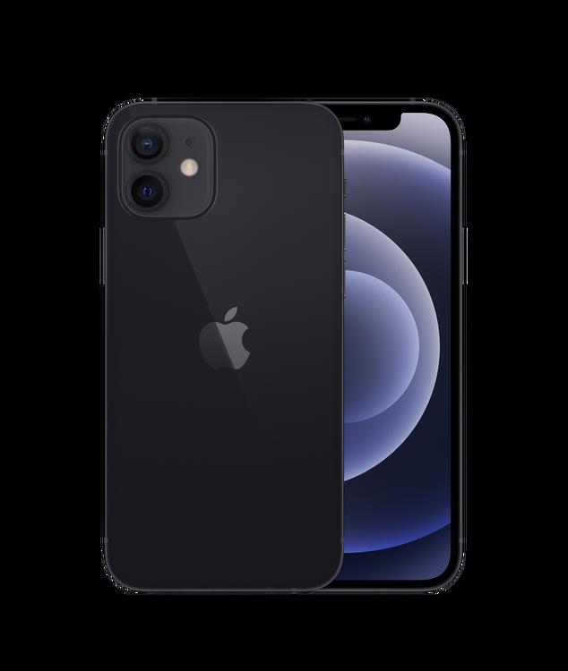 iPhone 12 128GB Svart - Helt ny