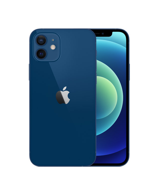 iPhone 12 128GB Blå - Helt ny