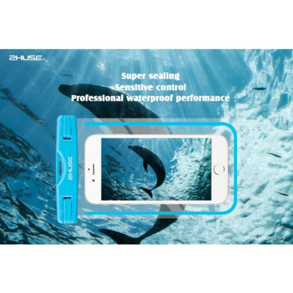 Vattentät 100% TPU Påse för iPhone & Android
