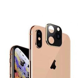 Linsskydd iPhone X / iPhone Xs Skyddar mobiltelefonens kamera