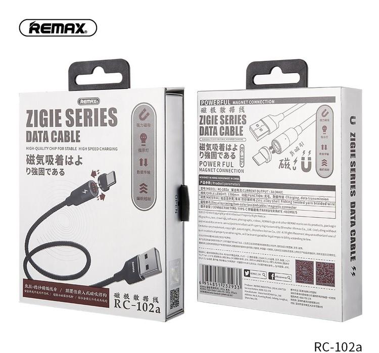 Effektiv Magnetisk USB-C kabel 1,2M