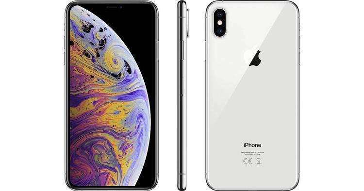 iPHONE XS MAX 256gb SILVER - Normalt Slitage