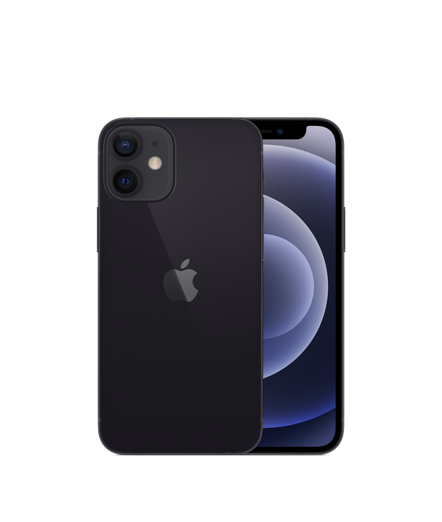 iPhone 12 Mini 64GB Svart - Helt ny