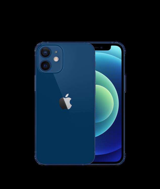 iPhone 12 Mini 64GB Blå - Helt ny