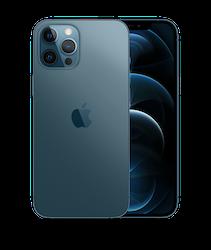 iPhone 12 Pro Max 128GB Stillahavsblå - Helt ny