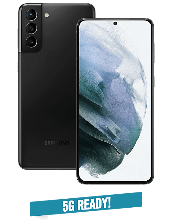 Samsung S21 Plus 5G Phantom Black - Helt ny