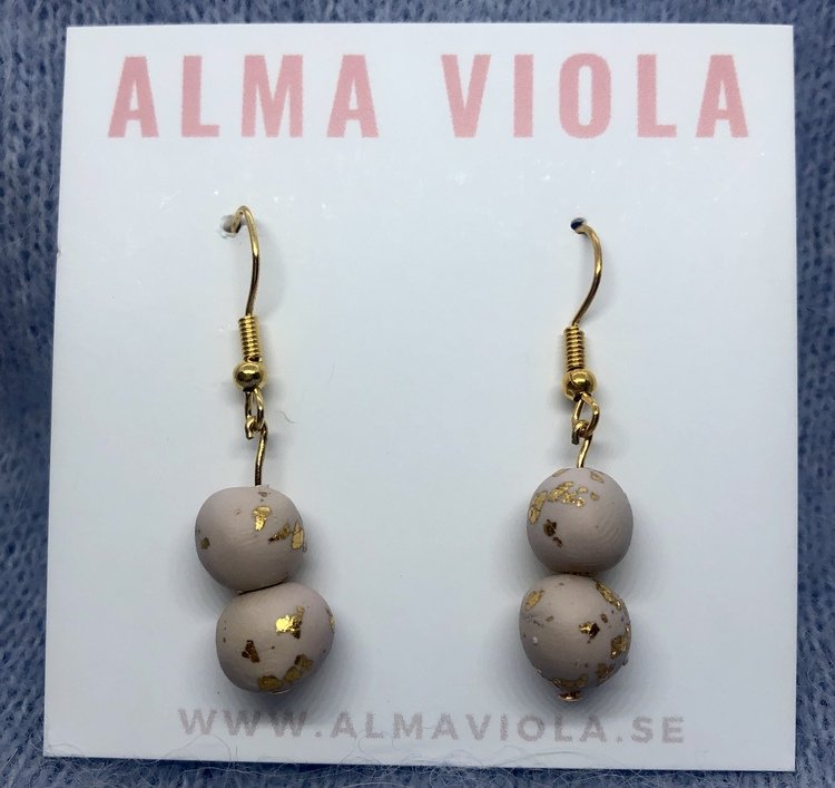 Grey stone balls