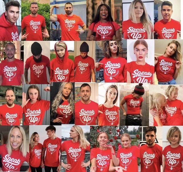 Speak UP t-shirt Röd