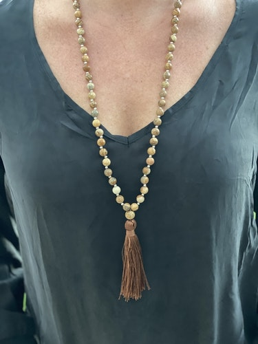 Halsband Crystal