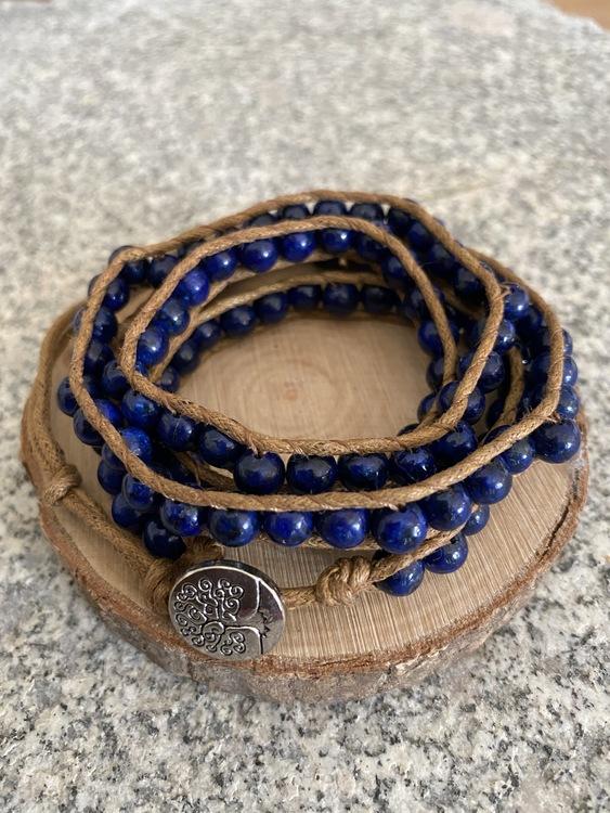 Boho armband med stenpärlor (large)