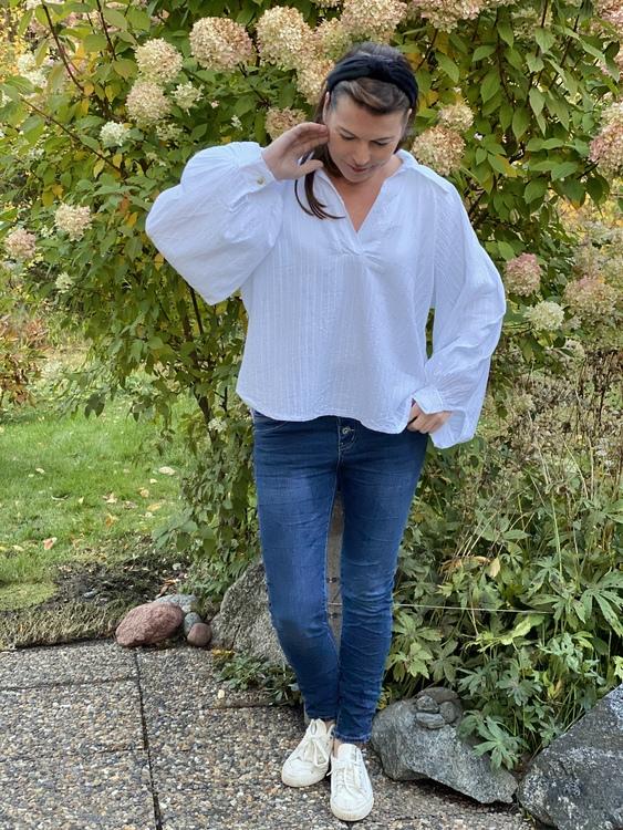 Summer vibes skjorta i vitt