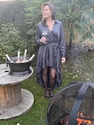 Volang maxi klänning