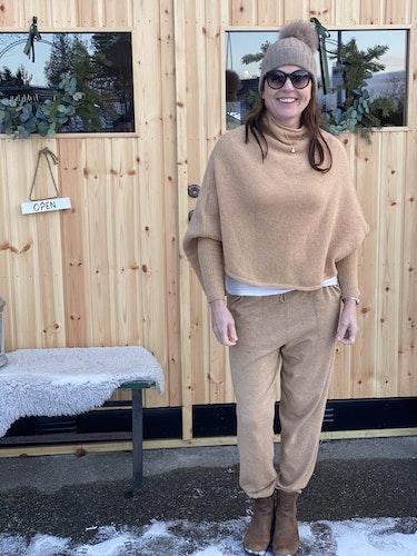 Vintervarm tröja i ull