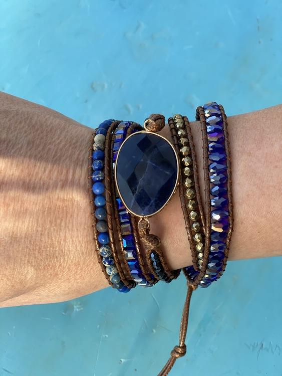 Armband i Boho style Lång