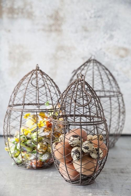 Öppningsbara metall ägg