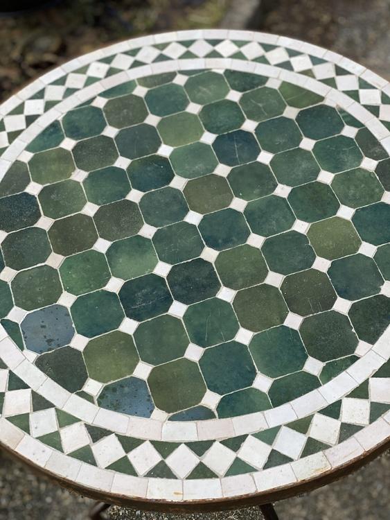 Marockanskt  Mosaikbord