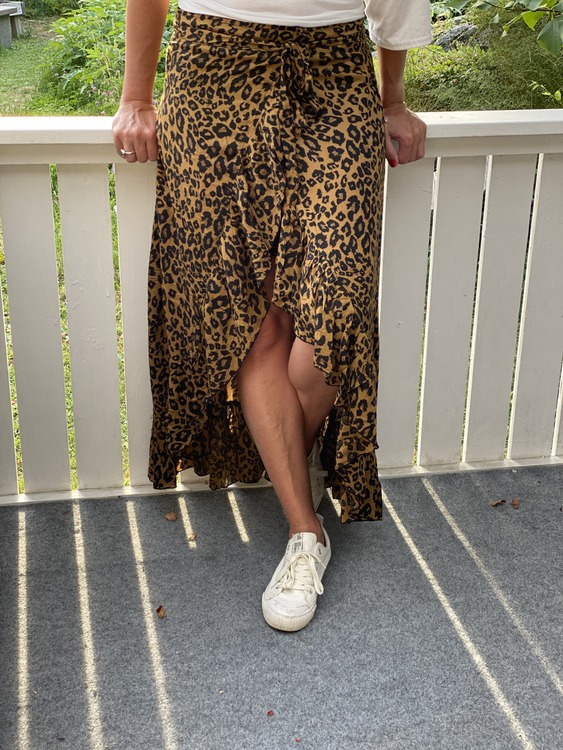 Omlottkjol Leopard