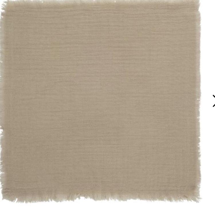 Napkin double weaving sand