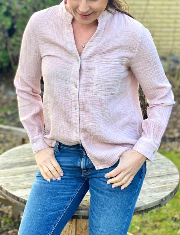 Soft cotton blouse