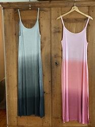 Batik färgad långklänning