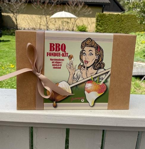BBQ Fondue-Kit med marshmallows