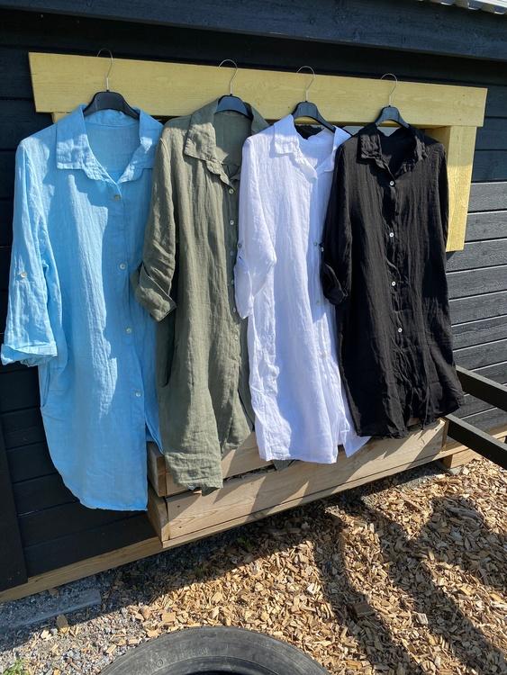 Tunika skjorta i linne