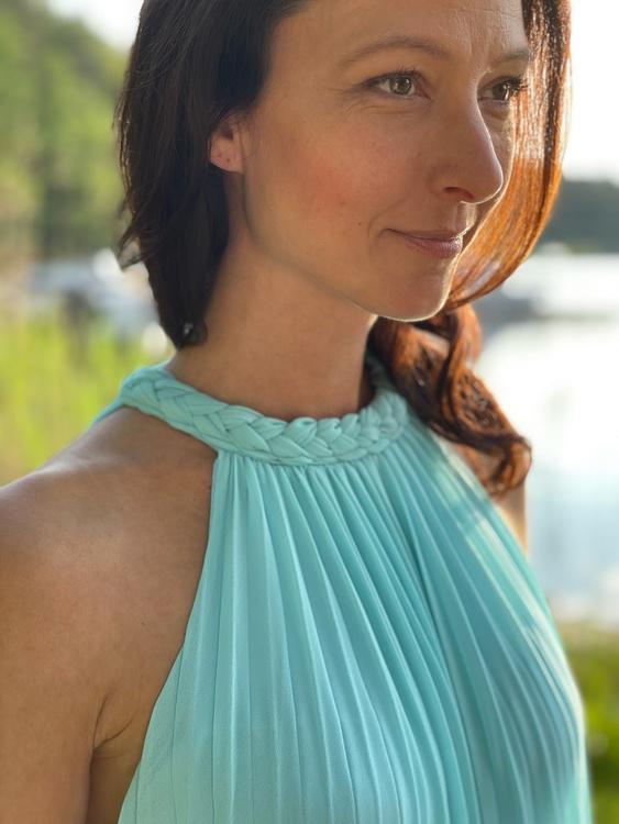 Sweet summer maxi klänning
