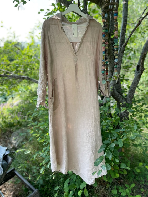 Maxiklänning simply linen