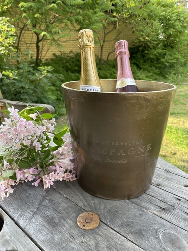 Champagnekylare - mässing