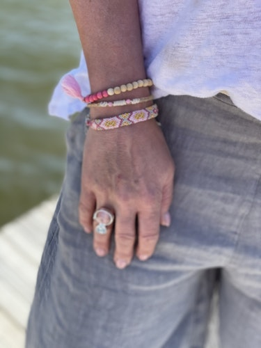 Handgjorda armband set från Bali
