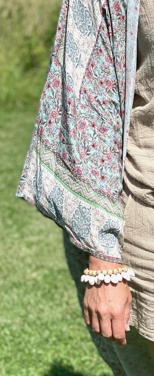 Kimono boho flora