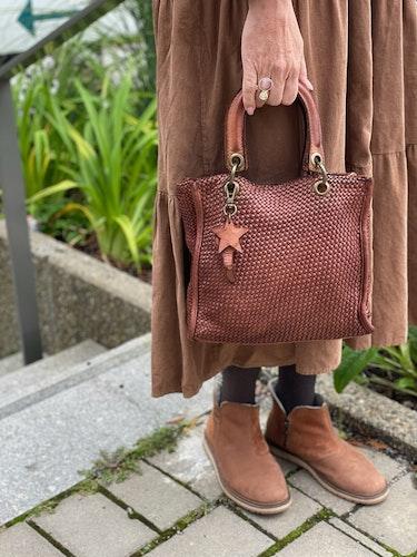 Leather bag Star