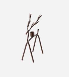 OH Deer ljusstake