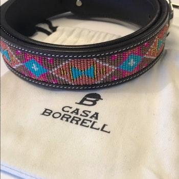 Casa Borrell Artisan belt 75cm