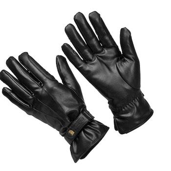 Roeckl wago svart vinter lærhansker