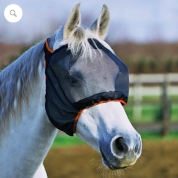 New Field Relief Midi Fly Mask uten ører (sort)