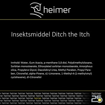 Insektspray Ditch The Itch 1liter Heimer